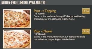 round table pizza nutrition gluten free pizza at fathers pizza for fathers round table round table pizza