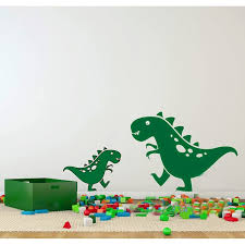2016 new two cute dinosaurs vinyl baby room decal wall sticker for kids bedroom wall on dinosaur bedroom wall stickers with 2016 new two cute dinosaurs vinyl baby room decal wall sticker for