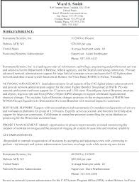 Example Of Federal Government Resumes Examples Of Federal Resumes Federal Government Resume Samples