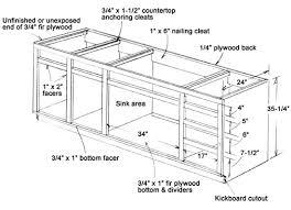 kitchen sink cabinet. Kitchen Sink CabiDimensions Cabinet