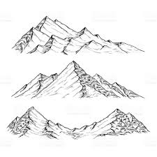 28 collection of mountain range line drawing high quality free 3bd696282e0db6480a9ca1bf5b05cd9b hand drawn vector illustration the