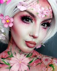 close up of my blossom makeup thanks for the overwhelming love on this look fun makeupfairy makeup ideasfantasy