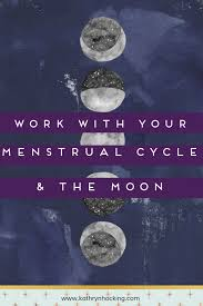 Menstrual Cycle Moon Chart Menstrual Cycles And The Moon Working With Your Natural Cycles