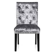 grey velvet chair. Perfect Velvet Barrington Dining Chair Grey Velvet  For N