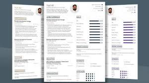 Modern Resume Templates Free Download Pdf Professional Resume Template Creative Cv Word Best Design