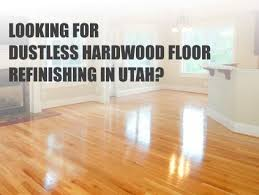 we can refinish your wood flooring without making dust