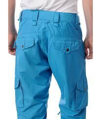 Foursquare Wong Blue Snowboard Pants Zumiez