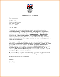 Letter For Absence Format Of Explanation Letter For Absence Valid Format For