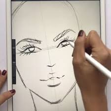 The App Is Procreate How To Draw Fashion Faces Loving The