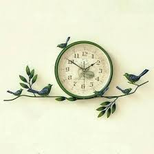 large office clocks. Clocks For Office Decorative Wall Bird Clock Pastoral Style Home Australia . Large