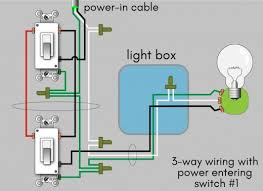 how to wire a 3 way switch wiring diagram dengarden 3 way wiring diagram power entering switch 1
