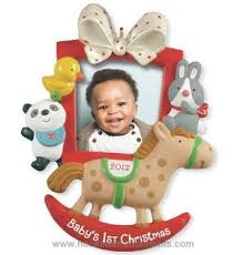 2012 Baby's First Christmas, Photo Holder