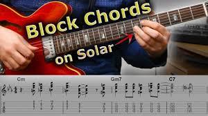 Block Chords The Ultimate Jazz Guitar Challenge Jens Larsen