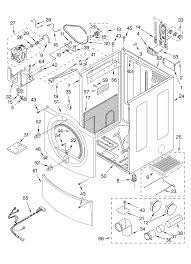 Whirlpool duet steam washer parts diagram dryer heating element