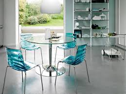 Kitchen Chairs  Dining Room Endearing Small Dining Room - Dining room chairs blue