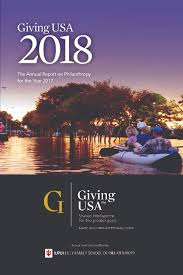 Giving Usa 2018 Americans Gave 410 02 Billion To Charity