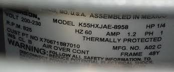 help wiring new condenser fan motor doityourself com community am standard 2 spd 14seer mtr jpg views 1038 size 21 3