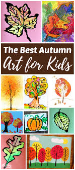The best fall art projects for kids! Inside you will find easy art and  painting