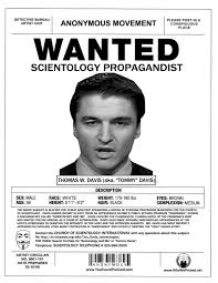 Busted Scientology Wanted Poster Series Why We Protest