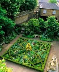 Small Picture Knot Garden Design with herbs and flowers Herbs Pinterest
