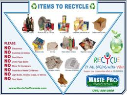 Things To Recycle Recycling Programs City Of Palm Coast Florida