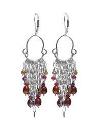 delanacre ruby pearl chandelier earrings legend