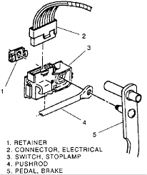 gmc vandura questions replace brake light switch 1989 gmc vandura 1990 GMC Wiring Diagrams Tail Lights 1990 Gmc Vandura Wiring Diagram #41
