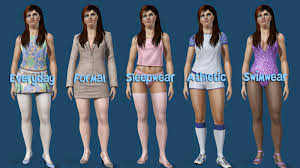 Mod The Sims - Default Base Game Stockings Available in All 5 Categories