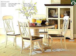round wooden kitchen table and chairs long dining room