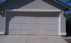 Garage Door garage door panel replacement photographs : Garage Door Cracked Panel Replacement - Perfect Solutions Garage Door
