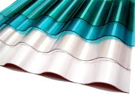 colored corrugated sheets plastic roof panel high light transmission polycarbonate tuftex polycarb