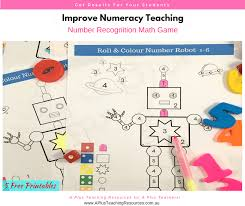 Print the worksheets about colours and complete the exercises to help you practise your english! 5 Free Coloring Printables For Teaching Number Recognition Classroom Freebies
