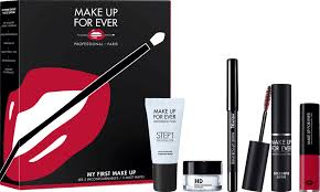 make up for ever my first makeup set with box