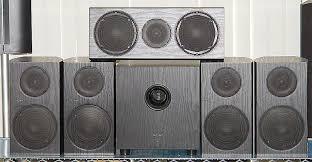 pioneer 5 1 speakers. pioneer andrew jones designed bookshelf home theater speaker system - front view 5 1 speakers