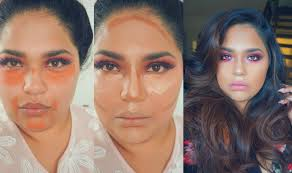 how to use orange concealer and contour makeup tutorial glambyruna you