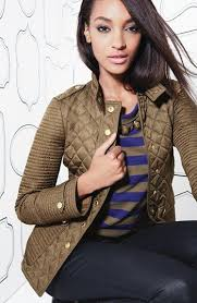 Burberry Brit 'Willsmoore' Quilted Snap Front Jacket | Nordstrom ... & Burberry Brit 'Willsmoore' Quilted Snap Front Jacket | Nordstrom The one  you NEED! Military Khaki Jourdan Dunn | Bee a Nordstrom Shopper | Pinterest  ... Adamdwight.com