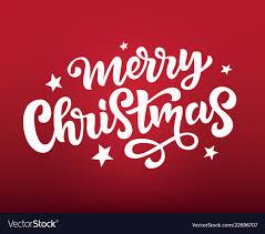 Merry Christmas Banner Print Merry Christmas Web Banner Poster Greeting Card Vector Image