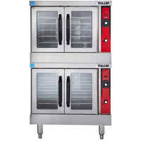 vulcan vc44ed 240 3 double deck full size electric convection oven 240v