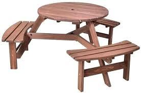 folding wood picnic table bench plans folding wood picnic tables 6 person round picnic table set