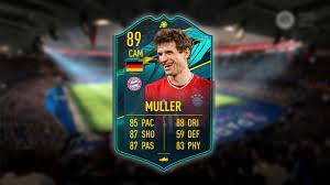 FIFA 21 Thomas Müller Player Moments SBC Solution