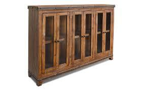rustic curio cabinet. Delighful Rustic San Cristobal Rustic 6 Door Curio Cabinet Inside T