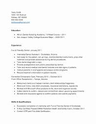 Dental Assistant Resume Template Microsoft Word Beautiful Assistant