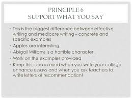 english the principles of good writing principle write  11 principle