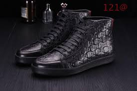 black gucci shoes for men high tops. $110 cheap gucci shoes for men #111450 - [gt111450] free shipping | replica black men high tops