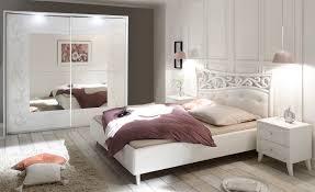 Schlafzimmer Komplettset Weiss Siebdruck Selvio1 Designermöbel