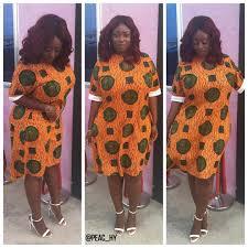 African Print Designs For Plus Size African Curvy Silhouette In Print Firame Afrik Medium