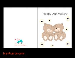 Printable Wedding Anniversary Cards Printable Wedding Anniversary Cards for Husband Free Printable 1