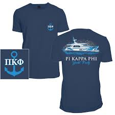Yacht T Shirt Designs Pi Kappa Phi Yacht Party Comfort Colors Tees By