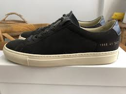 Common Projects Shoe Size Chart Common Projects Achilles Low Premium Suede Grey Size 41 8