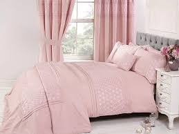 image of pink duvet cover twin
